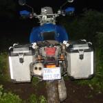 Мотоцикл байкера из Израиля