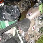 Еще упакованные мотоциклы иностранцев