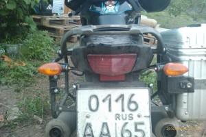 Мотоцикл Андрея с Сахалина