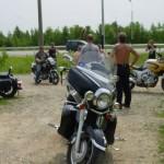 У клуба Байкеры тестируют мотоциклы Киевлян